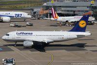 D-AILC @ EDDL - Airbus A319-114 - LH DLH Lufthansa 'Ruesselsheim' - 616 - D-AILC - 17.08.2016 - DUS - by Ralf Winter
