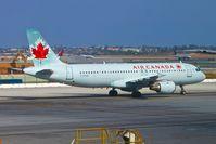 C-FFWI @ KLAX - Air Canada Airbus A320-211, taxiway Sierra KLAX. - by Mark Kalfas