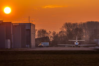 D-CBAY @ EDMA - Sunset at EDMA - by Marc Ulm