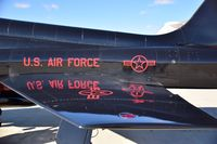 66-4332 @ KBOI - 9th Recon Wing, Beale AFB, CA.  That gloss black paint reflects a lot. - by Gerald Howard