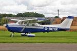 G-BCYR @ EGBR - Reims F172M Skyhawk, Wings & Wheels Day, Breighton Airfield, September 2nd 2012. - by Malcolm Clarke