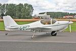 G-BYSA @ EGBR - Europa XS Monowheel, Wings & Wheels Day, Breighton Airfield, September 2nd 2012. - by Malcolm Clarke