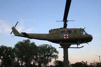 70-16358 - UH-1H in Bay City Michigan Veterans park - by Florida Metal