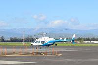 N1085T @ SZP - 1980 Bell 206L-1 LongRanger II, one Allison 250-C28B Turboshaft 500 shp, LongRanger II introduced 1978. - by Doug Robertson