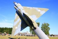 568 @ LFSX - Dassault Mirage IIIE, preserved at Luxeuil-St Sauveur Air Base 116 (LFSX) - by Yves-Q