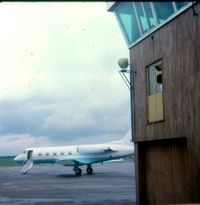 N127V @ EGMC - N127V on Stand 1 at Southend Airport C 1977 - by Paul Howlen