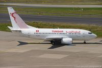 TS-IOP @ EDDL - Boeing 737-6H3 - TU TAR Tunis Air 'El Jem' - 29500 - TS-IOP - 27.07.2016 - DUS - by Ralf Winter
