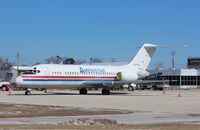 N785TW @ KMKE - DC-9-15F