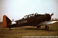 D-FHGK - North American Harvard AT-6 - Privat - D-FHGK - 1977 - by Ralf Winter