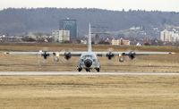 163311 @ EDDS - KC-130T Hercules at Stuttgart - by Heinispotter
