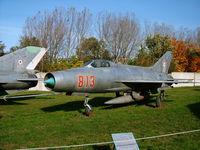 813 @ LHSN - Szolnok airplane museum, Hungary - by Attila Groszvald-Groszi
