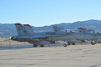 "165230 @ KBOI - Parked on south GA ramp. VMFA-232 ""Red Devils"" 