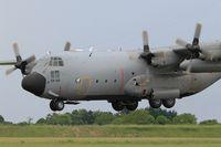 CH-09 @ LFOA - Belgian Air Force Lockheed C-130H Hercules, Landing rwy 24, Avord Air Base 702 (LFOA) Open day 2016 - by Yves-Q
