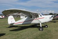 N2204F @ KSNL - Cessna 140 - by Mark Pasqualino