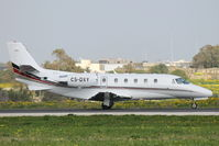 CS-DXY @ LMML - Cessna560XL Citation CS-DXY Netjets - by Raymond Zammit