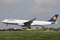 D-AIKC @ LMML - A330 D-AIKC Lufthansa - by Raymond Zammit