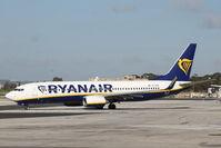 EI-DPN @ LMML - B737-800 EI-DPN Ryanair - by Raymond Zammit