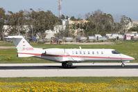 D-CDOC @ LMML - Learjet45 D-CDOC - by Raymond Zammit