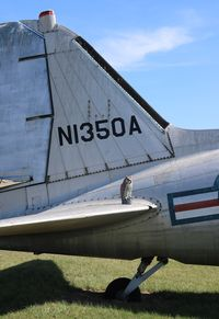 N1350A @ KVIH - Douglas C-47B - by Mark Pasqualino