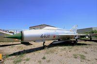 4406 - Mikoyan-Gurevich MiG-21PFM, preserved at Les Amis de la 5ème Escadre Museum, Orange - by Yves-Q
