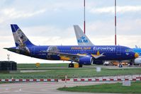D-ABDQ @ EGSH - To Eurowings 'Europa Park' logo jet. - by keithnewsome