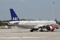 LN-RGO @ LMML - A320 LN-RGO SAS - by Raymond Zammit