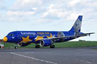 D-ABDQ @ EGSH - Preparing to leave Norwich. - by keithnewsome