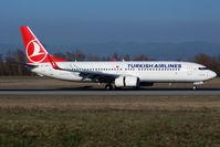 TC-JVR @ LFSB - Landing