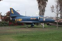 144930 @ LAX - A-4B Blue Angels at Proud Bird LAX - by Florida Metal