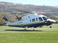 G-ROON @ EGBC - At Cheltenham Helipad - by James Lloyds