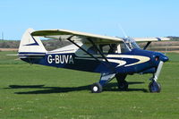 G-BUVA @ X3CX - Just landed at Northrepps. - by Graham Reeve