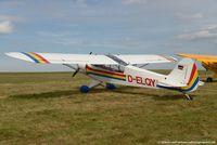 D-ELQY @ EDRV - Piper PA-18-95 Super Cub - Private - 18-3083 - D-ELQY - 03.09.2016 - EDRV - by Ralf Winter