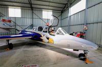 499 @ LFLQ - Fouga CM-170 Magister, Musée Européen de l'Aviation de Chasse, Montélimar-Ancône airfield (LFLQ) - by Yves-Q
