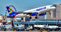 N622NK @ KLAS - N622NK Spirit Airlines 2013 Airbus A320-232 - cn 5804   Las Vegas - McCarran International Airport (LAS / KLAS) USA - Nevada March 24, 2017 Photo: Tomás Del Coro - by Tomás Del Coro
