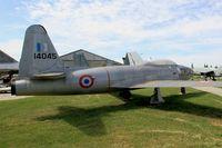 14045 @ LFLQ - Lockheed T-33A Shooting Star, Musée Européen de l'Aviation de Chasse at Montélimar-Ancône airfield (LFLQ) - by Yves-Q