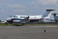 G-DXTR @ EGTF - Beech B200 Super King Air at Fairoaks. Ex ZS-DEX - by moxy