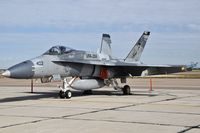 "162899 @ KBOI - Parked on the south GA ramp. VFA-204 River Rattlers"", NAS New Orleans. - by Gerald Howard"