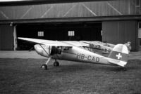 HB-CAD @ LSZB - Taken at Berne airport in the mid-fifties. Scanned from a 6x9 negative. - by sparrow9
