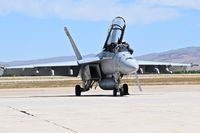 166980 @ KBOI - Parked on south GA ramp. VX-9, The Vampires     (Air test & Evaluation Squadron Nine), NAS China Lake, CA. - by Gerald Howard