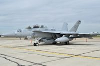 "166897 @ KBOI - Parked on south GA ramp. VAQ-209 ""Star Warriors""	NAS Whidbey Island, WA. - by Gerald Howard"