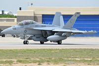 "166897 @ KBOI - Taxiing on Bravo to RWY 28L. VAQ-209 ""Star Warriors""	NAS Whidbey Island, WA. - by Gerald Howard"