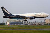 OY-SRM @ LFBO - Landing