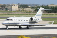 9A-CRO @ LMML - Canadair challenger604 (CL-600) 9A-CRO Croatian Government - by Raymond Zammit