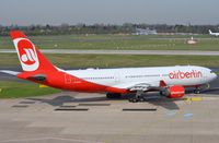 D-ALPA @ EDDL - Air Berlin A332 taxying for departure. - by FerryPNL