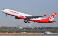 D-ALPA @ EDDL - Air Berlin A332 lifting-off. - by FerryPNL