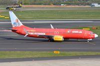 D-AHFZ @ EDDL - TUI B738  logojet arrived - by FerryPNL