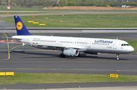 D-AIRB @ EDDL - Lufthansa A321 arrived - by FerryPNL