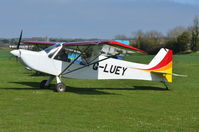 G-LUEY @ X3CX - Just landed at Northrepps. - by Graham Reeve
