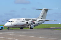 EI-RJF @ EGSH - Under tow at Norwich. - by Graham Reeve
