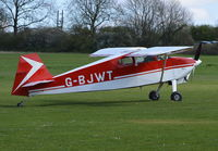 G-BJWT @ EGHP - Wittman W-10 Tailwind at Popham. - by moxy